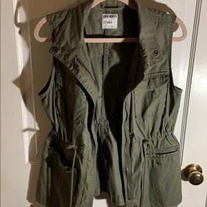 Old Navy Green Vest